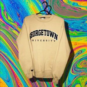 Georgetown University Jansport Crewneck Sweater